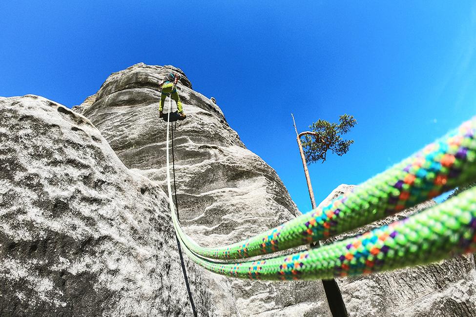 lezecké lano