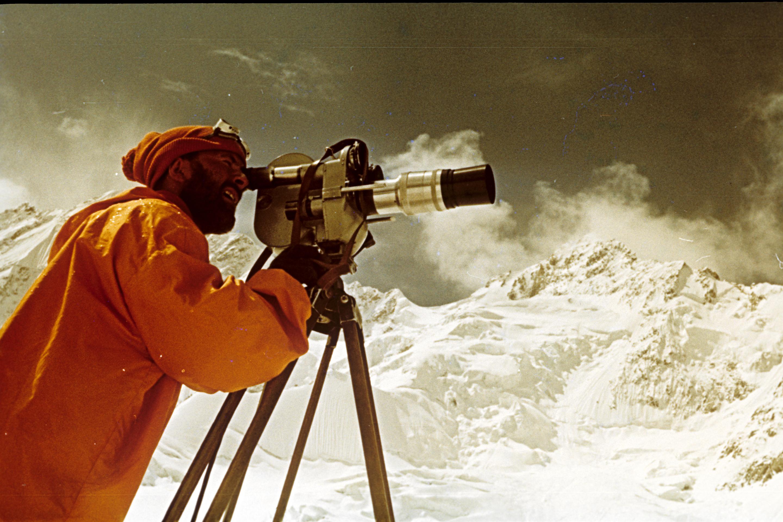 Jan Červinka horolezec a kameraman