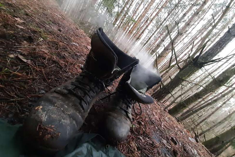 sušení bot