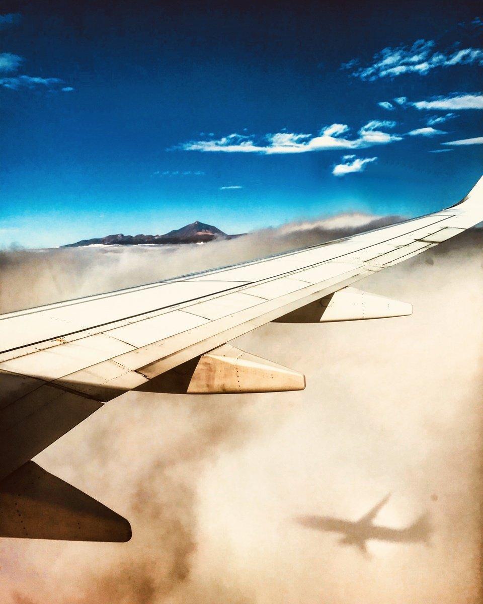 teide z letadla