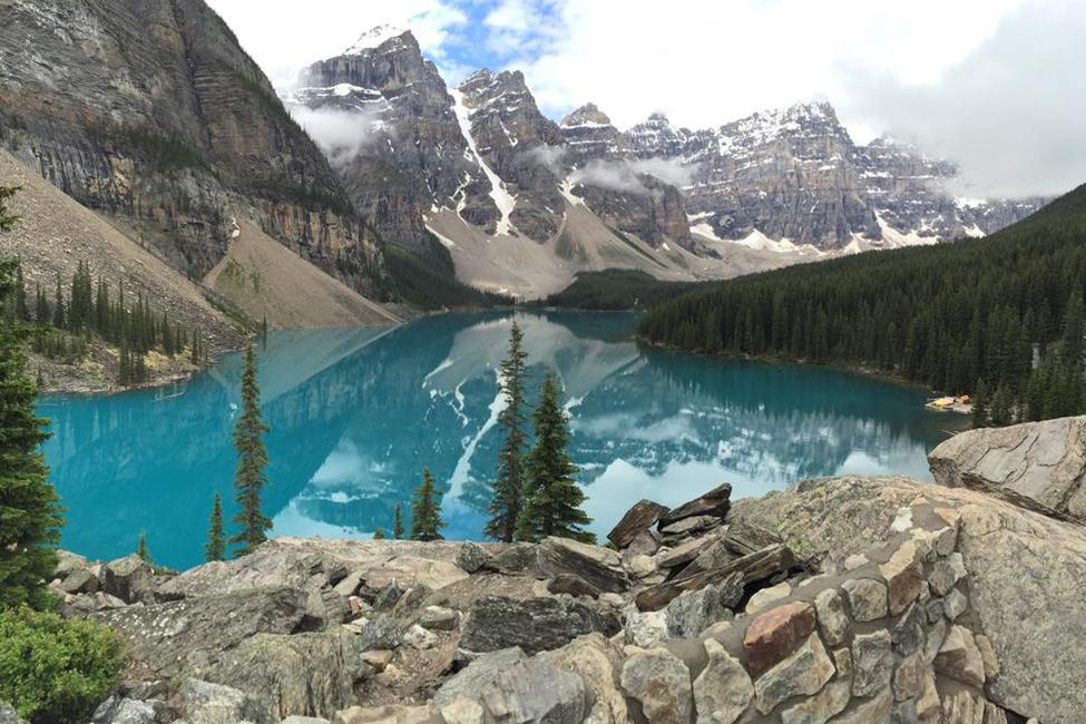 Grangers jezero hory
