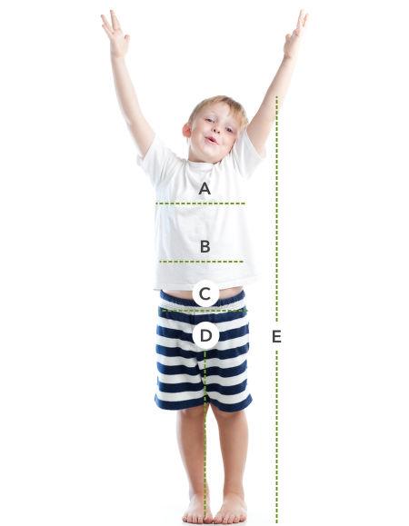 Jak se správně měřit – děti