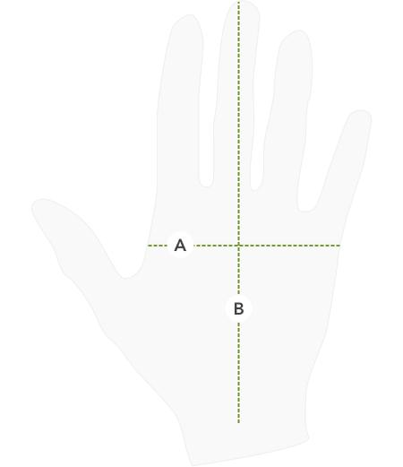 Jak se správně měřit – rukavice