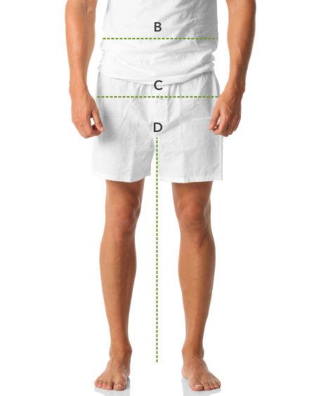 Jak se správně měřit – muži, nohy