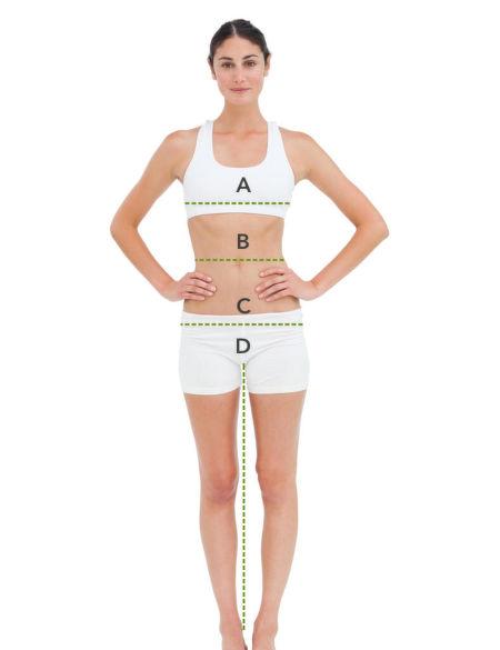 Jak se správně měřit – ženy