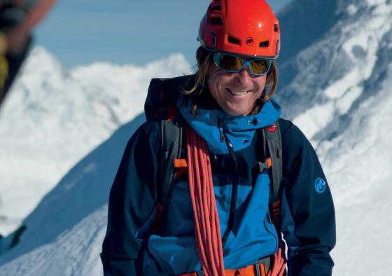Ambasadorem značky Mammut je také elitní český horolezec Mára Holeček.