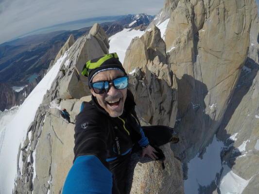 Jindřich Hudeček patří kvelkým fanouškům značky Direct Alpine, kterou si každoročně bere na své prvotřídní výstupy vPatagonii.