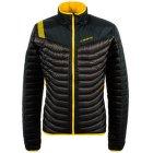 Combin Down Jacket Men Black/Yellow 999100