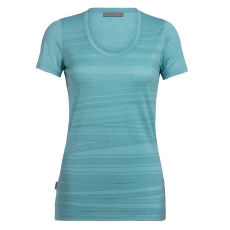 Tech Lite SS Scoop 1000 Lines Women Lagoon