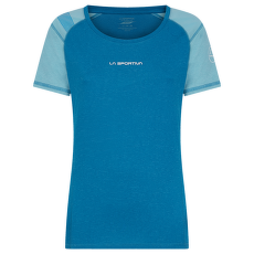 Hynoa T-Shirt Women Neptune/Pacific Blue