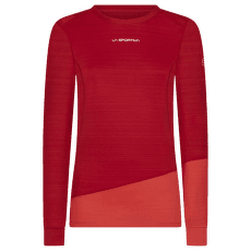 Dash Long Sleeve Women Grape/Hibiscus