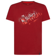 Square Evo T-Shirt Men Chili
