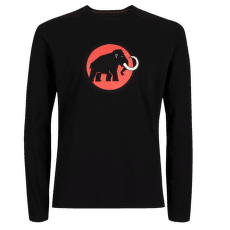 Mammut Logo Longsleeve Men (1016-00870) black 0001