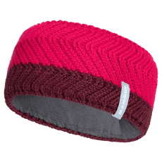La Liste Headband merlot-sundown