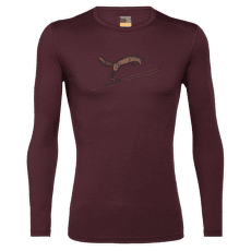 Oasis LS Crewe Fox Jump Men 200 Redwood
