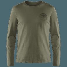 Forever Nature Badge LS T-Shirt Men Tarmac