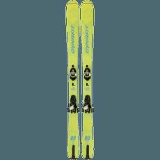 Seven Summit Youngstar Set 2000 Fluo yellow/Asphalt