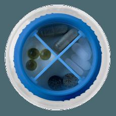 Pill Lid Pill Lid - Blue