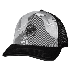Crag Cap (1191-00063) black-white 0047