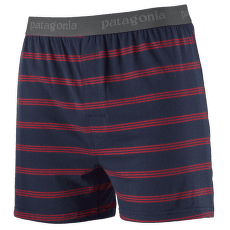 Essential Boxers Men Pier Stripe: New Navy