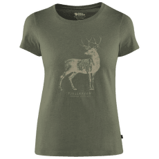 Deer Print T-shirt Women Tarmac