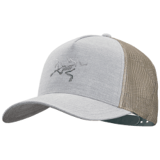 Polychrome Bird Trucker Grey Heather