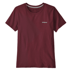 P-6 Logo Organic Crew T-Shirt Women Chicory Red