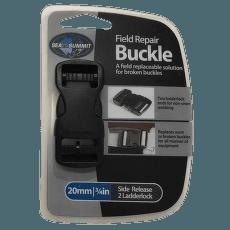 Buckle side release 20 mm Black