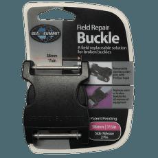 Buckle 38 mm side release 2 pin Black