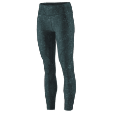 Centered Tights Women Cosmic Carving: Northern Green