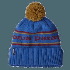 Powder Town Beanie Park Stripe Knit: Float Blue