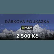 Elektronická dárková poukázka 2500 Kč