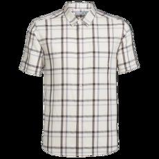 Compass SS Shirt Men SANDSTONE/Walnut/Plaid