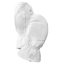 Leather Box Mitt Offwhite