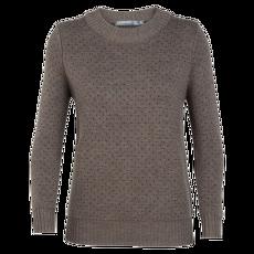 Waypoint Crewe Sweater Women TOAST HTHR/CHAR HTHR