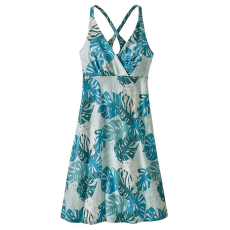 Amber Dawn Dress Women Tarkine Fern: Tasmanian Teal