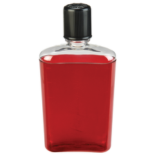 Flask Red with black cap 2181-0008