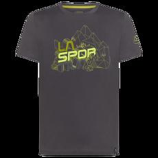 Cubic T-Shirt Men Carbon/Kiwi