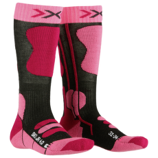 Ski Junior 4.0 ANTHRACITE MELANGE/FLUO PINK