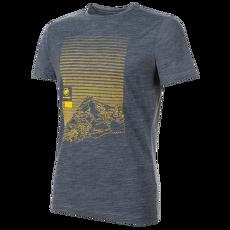 Alnasca T-Shirt Men (1017-01770) peacoat melange