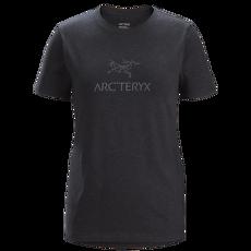 Arc'Word T-Shirt SS Women Black Heather