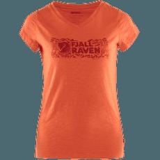 Logo Stamp T-Shirt Women Rowan Red