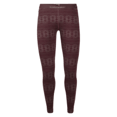Vertex Leggings Crystalline Women Redwood