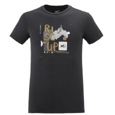Influence T-Shirt SS Men BLACK - NOIR