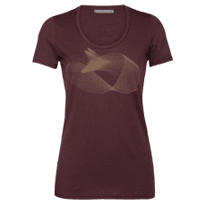 Tech Lite SS Scoop Polar Fox Women Redwood