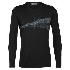 Tech Lite LS Crewe Impact Timeline Men Black
