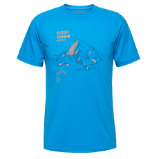 Mountain T-Shirt Men (1017-09846) gentian 5213