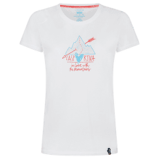 Alakay T-shirt Women White/Hibiscus