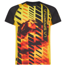 Wave T-Shirt Men Black/Yellow 999100