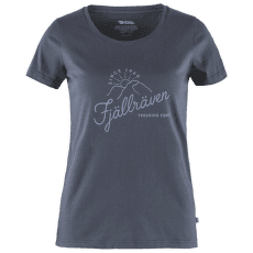 Sunrise T-shirt Women Navy